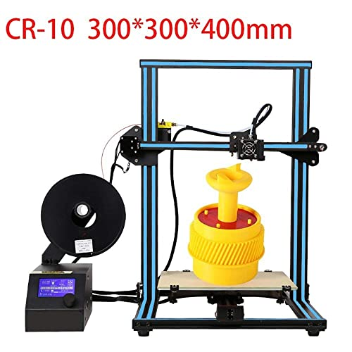 CCTREE Creality CR-10S DIY Desktop 3D Printer Kit Large Printing Size 300x300x400mm 1.75mm Filament 0.4mm Nozzle Blue