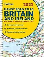 2021 Collins Handy Road Atlas Britain and Ireland (Collins Road Atlas)
