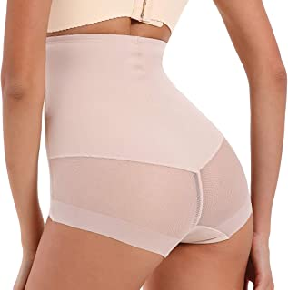 Larry&Marry Women Body Shaper Hi-Waist Tummy Control Panty Shapewear Slim Waist Trainer Butt Lifter Brief