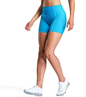 Aoxjox Women's High Waisted Ultra Seamless Yoga Gym Workout Shorts