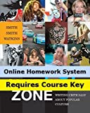 English 21: Handbooks (with CengageNOW, Personal Tutor, InfoTrac) for Smith/Smith/Watkins  The Pop Culture Zone: Writing Critically about Popular Culture, 1st Edition