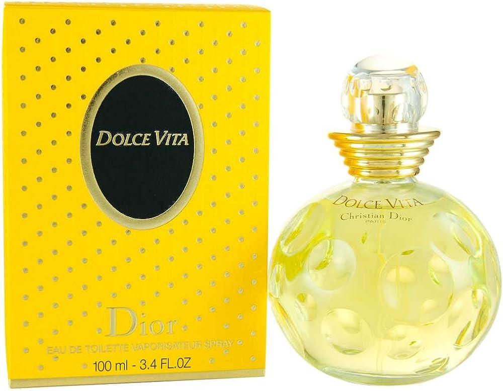 Christian dior dolce vita,eau de toilette,profumo per donna, 100 ml 3348900236738