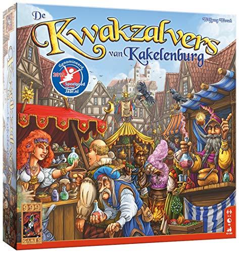 999 Games 999-Kwa01 De Kwakzalvers Van Kakelenburg Bordspel Bordspel, Alle Kleuren