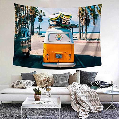 WERT Tapiz con Estampado de Viento Libre Colgante de Pared Manta de Arte Estera de Yoga Decoración de Dormitorio Toalla de Playa Bohemia Mantel Tela de Fondo A9 95x73cm