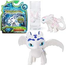 Dragons Selección Mini DreamWorks Figuras con Cambio de Color, Dragons:Furia Luminosa