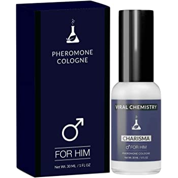 Pheromones to Attract Women for Men (Charisma) - Exclusive, Ultra Strength Organic Fragrance Body Cologne Spray - 1 Fl Oz (Human Grade Pheromones to Attract Women)