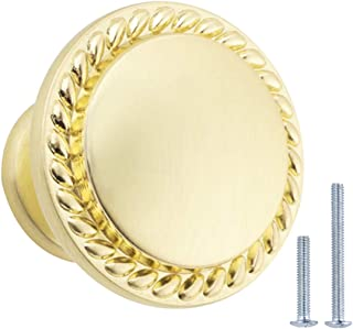 AmazonBasics AB900-GC-10 Cabinet Knob, 10-pack, Golden Champagne