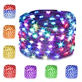 16 Multi Color Changing Fairy Lights USB Powered...