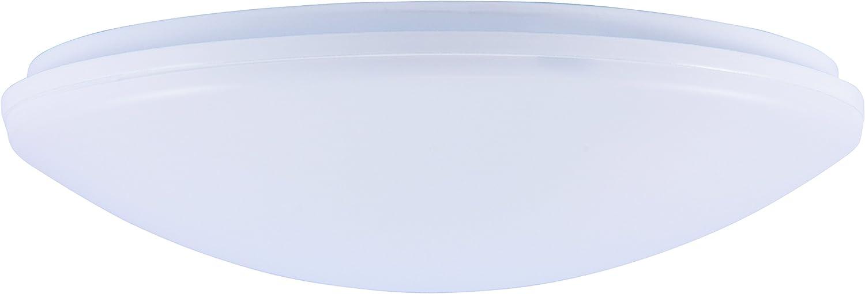 Inolight iWD 24 FB LED Deckenleuchte (A+, 14 Watt, 2200-5000K Warmwei-Tageslichtwei, 1400 Lumen, 24cm, 50.000 Std., Fernbedienung) wei