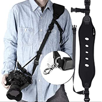 Nikon Coolpix S3500 Neck Strap Lanyard Style Adjustable With Quick-Release.