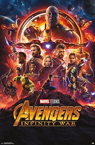 Trends International Avengers: Infinity War-One Sheet Wall Poster, 22.375' x 34', Multicolor