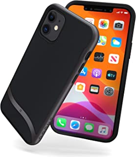 Snugg iPhone 11 (2019) Case - Slim Cover Protective Pulse Series Silicone Shockproof - Gunmetal Grey