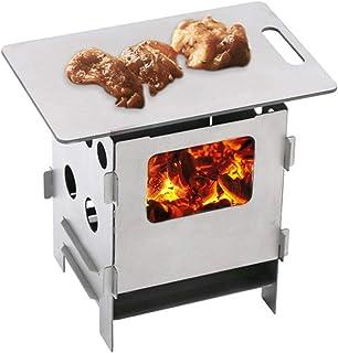 Mini grille de barbecue en titane léger pour salle à manger, cuisine, camping, randonnée, 8 cm