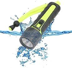 Portable Lightweight Waterproof Diving Light Flashlight, 1200LM Q5 LED Lantern Lamp Linternas Torch by AA Underwater Divin...