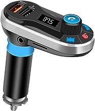 Transmisor FM bluetooth para Coche Manos Libres Cargador USB