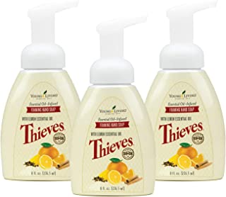 Thieves Foaming Hand Soap 3 pack of 8 fl oz. by Young Living Essential Oils