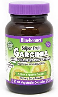 BlueBonnet Super Fruit Garcinia Cambogia Rind Supplement, 60 Count