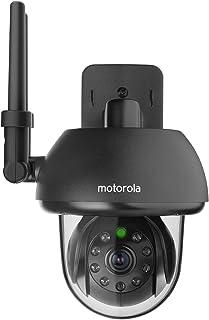 Motorola Wi-Fi HD Outdoor Home Monitoring Camera with Remote Pan, Tilt & Zoom, Black - FOCUS73-B