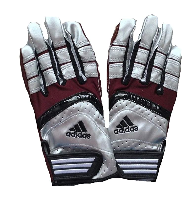 adidas Scorch Lightning Football Receiver Gloves, Adult, 2XL