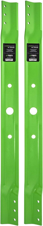 Virginia Beach Mall 8TEN LawnRAZOR Hi Lift Blade Set for inch RE210 Deck Store Snapper 33