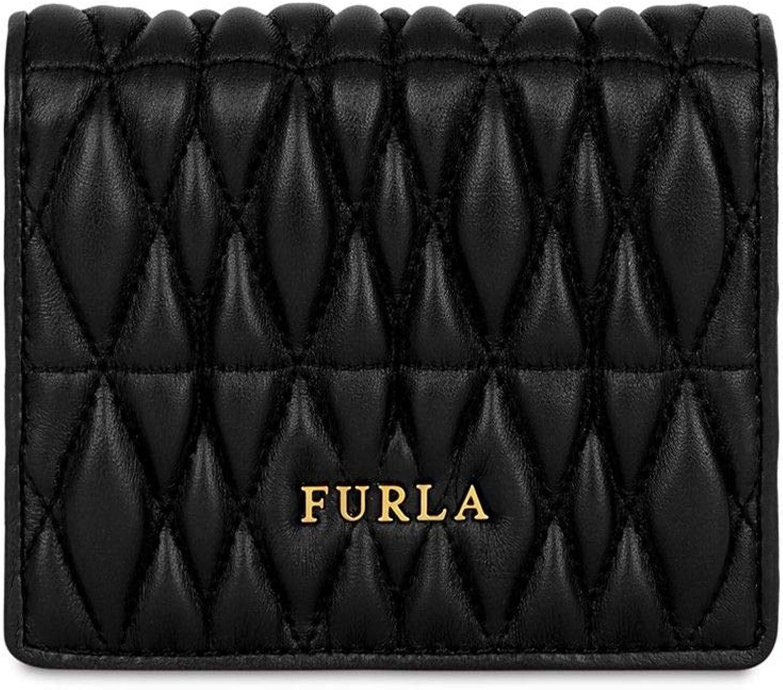 Furla Women's 993802 Black Leather Wallet