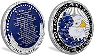 United States Air Force Airman's Creed Military Challenge Coin