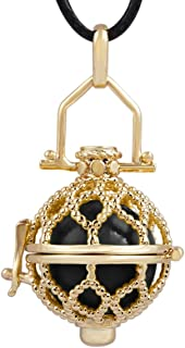 EUDORA Harmony Bola Bling Necklace Pendant Mexican Bola Chime Locket & 18mm Musical Ball