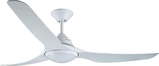 LUCCI AIR Airfusion Mariner Ventilateur de plafond Blanc 142 cm de diamètre avec lumière LED et télécommande