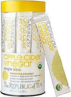 Sponsored Ad - The Republic of Tea Apple Cider Vinegar Pineapple Coconut Single Sips, 14 Count
