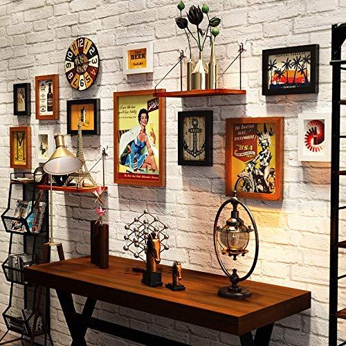 KTDT Collage Bilderrahmen 11-teiliges Multi-Pack-Fotorahmen-Set Wandgalerie-Kit, Vier 11,3 x 15,2 cm, fünf 15,2 x 20,3 cm, eine 22,7 x 27,7 cm, eine 27,7 x 37,7 cm