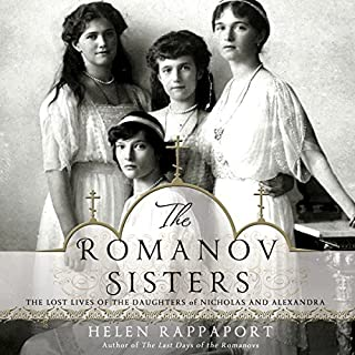 The Romanov Sisters audiobook cover art