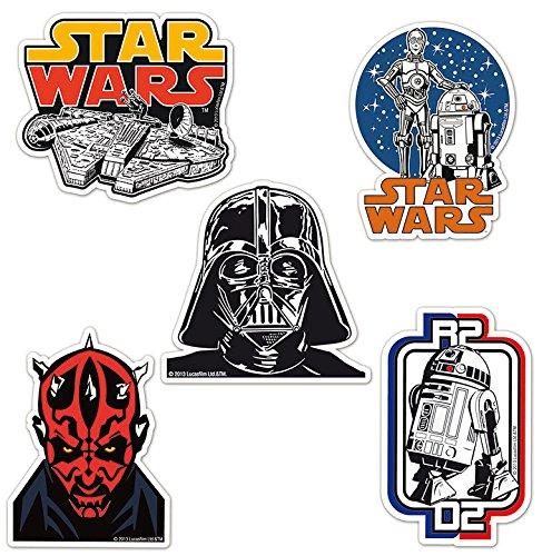 Logoshirt Star Wars Kühlschrankmagnet Set - fünf Krieg der Sterne Magnete im Set