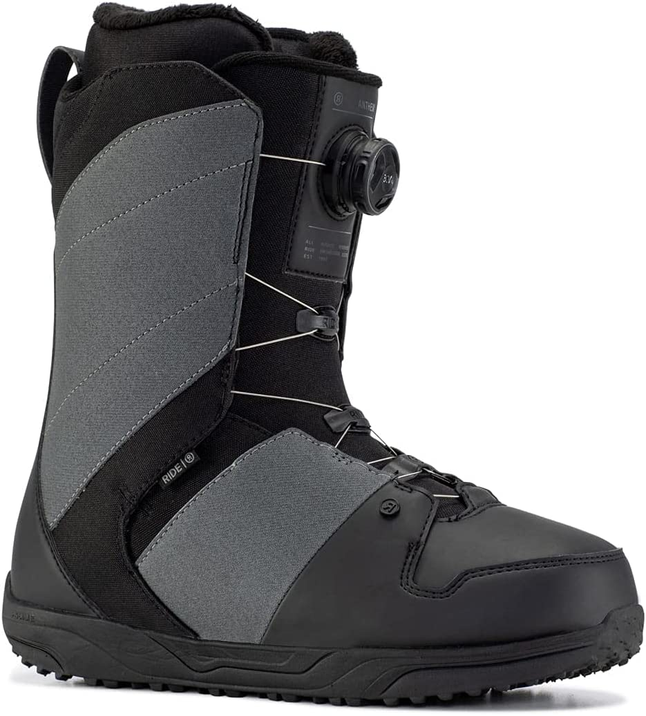 Ride Anthem Mens Snowboard 9 Mail order cheap Max 79% OFF Sz Grey Boots