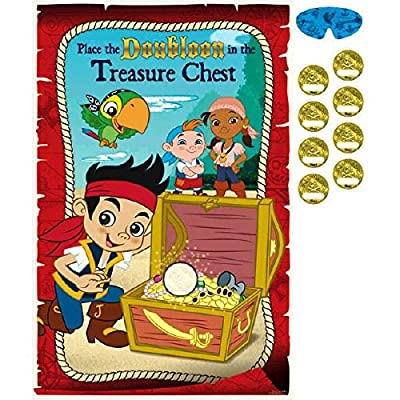 "Disney ""Jake and the Never Land Pirates"" Party Game, Party Favor"