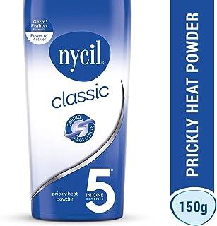 Nycil Cool Classic Prickly Heat Talcum Powder, 150gm