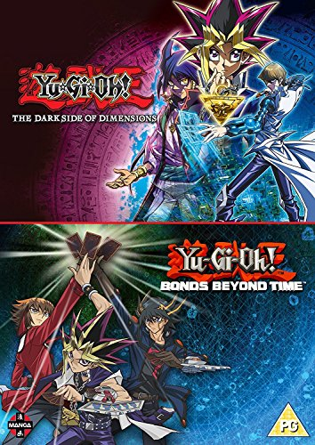 Yu-Gi-Oh! Movie Double Pack: Bonds Beyond Time & Dark Side of Dimensions [Blu-ray] [UK Import]