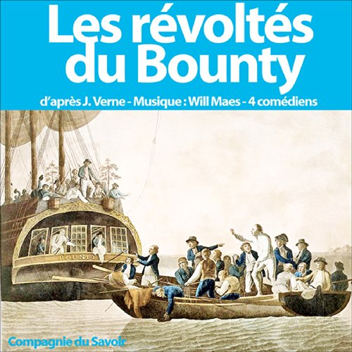 Les révoltés du Bounty audiobook cover art
