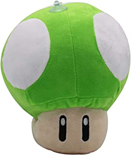 Ray-E Super Mario Mushroom Green Plush 12