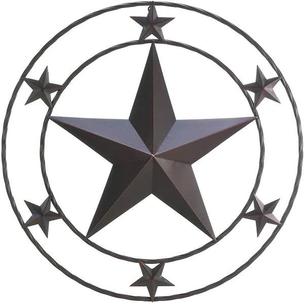 Texas Star Wall Decor Home Decor 24 X24
