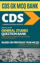 CDS General Studies Question Bank based on Previous Papers 3000+ MCQs: Combined Defense Services