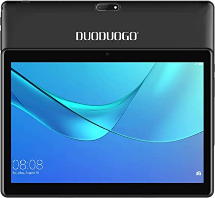 $89 Get 4G LTE 10.1 Inch Android Tablet PC Android 7.0, OTG, 2GB RAM, Hard Disk 32GB 8500mAh Battery - IPS Screen HD 1280 800 Pixel WiFi Tablets Phablet (Black)