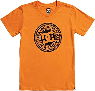 DC Circle Star Boys Short Sleeve T-Shirt