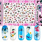 Flower Nail Decal Black Sticker For Nail Pattern Painting Wrap Paper Foil Tip Tattoo Manicure,F560