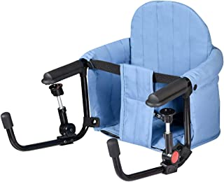 BABY JOY Hook On Chair, Fold-Flat Storage & Tight Fixing Clip on Table High Chair for Home Restaurant Travel, Portable Fee...