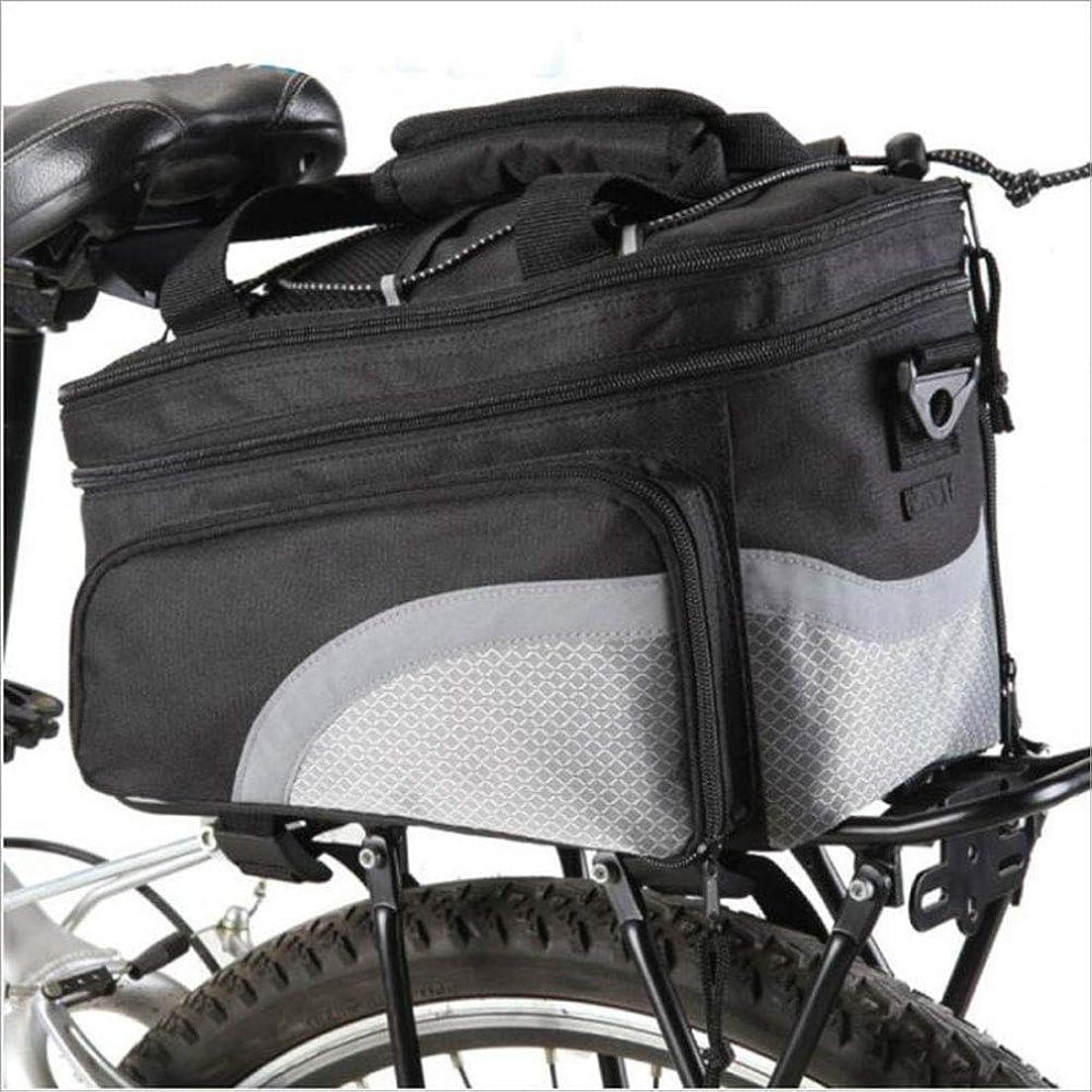 勝利多年生寸前Tckoudai 自転車バッグ 自転車バッグ 棚パッケージ 拡張可能なリアシェルフパッケージ