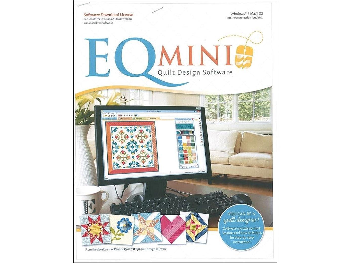 Electric Quilt Company EQ Mini Software License PC/Mac