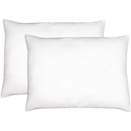 Oreiller pour enfant avec taie doreiller Lavable et hypoallerg/énique Petit oreiller pour b/éb/é et voyage 13 x 18 cm en coton doux pour b/éb/é et enfant