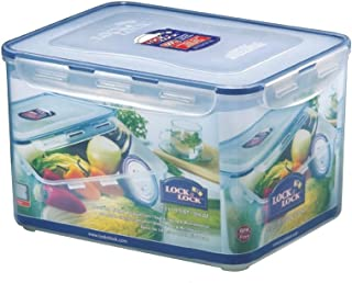 Lock & Lock Classic Stackable Airtight Rectangle Food Container, 9.0L (HPL-838) 11.6 x 9 x 7.2 inches