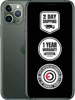 Apple iPhone 11 Pro, 512GB, Midnight Green - Fully Unlocked (Renewed)