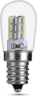 Niumen 2pcs Luz LED para Refrigerador, Bombilla para Campana con Soporte E12 220v 3014, Ahorro De Energía Equivalente A Ha...
